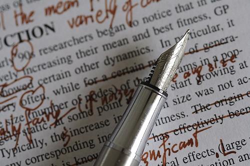 Correction texte relire relecture edition